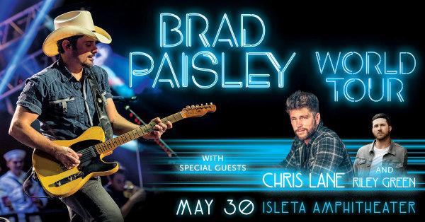 None - Win Brad Paisley Tickets