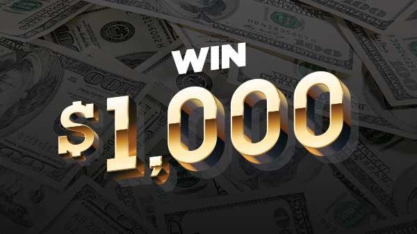 None -   Win $1000 Cash in Alternative Income!