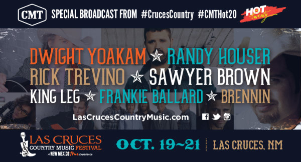 None - Win Las Cruces Country Music Festival Weekend Passes