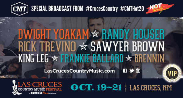 None - Win VIP Tickets & Hotel Accommodations To The Las Cruces Country Music Festival