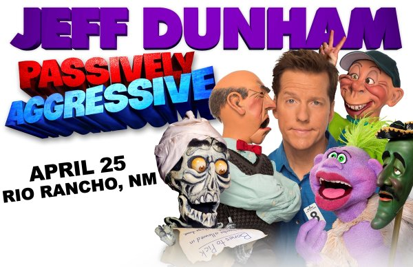 None - Win Jeff Dunham Tickets
