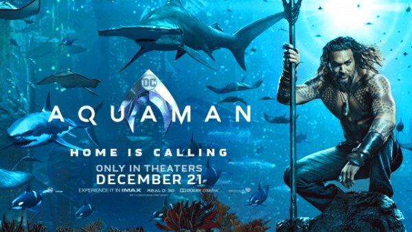 None - Aquaman Advanced Screening
