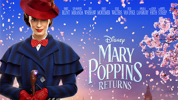None - Sneak Peak of Disney's Mary Poppins Returns!