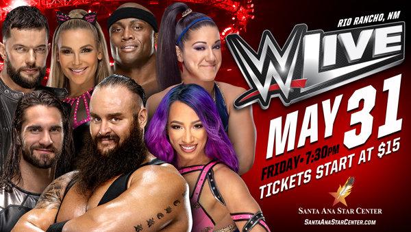 None - Win WWE Live Tickets