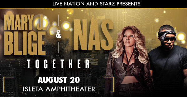 None - Win Mary J. Blige & NAS Tickets