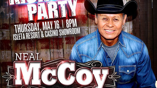 None - Win Neal McCoy Tickets