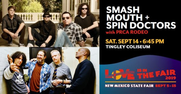 None - Win Smash Mouth + Spin Doctors Tickets
