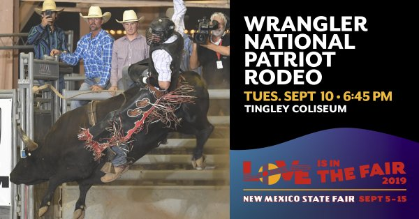 None - Win Wrangler National Patriot PRCA Rodeo Tickets