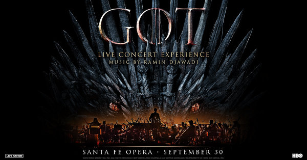 None - Win Tickets To The Game Of Thrones Live Concert Experience Tour