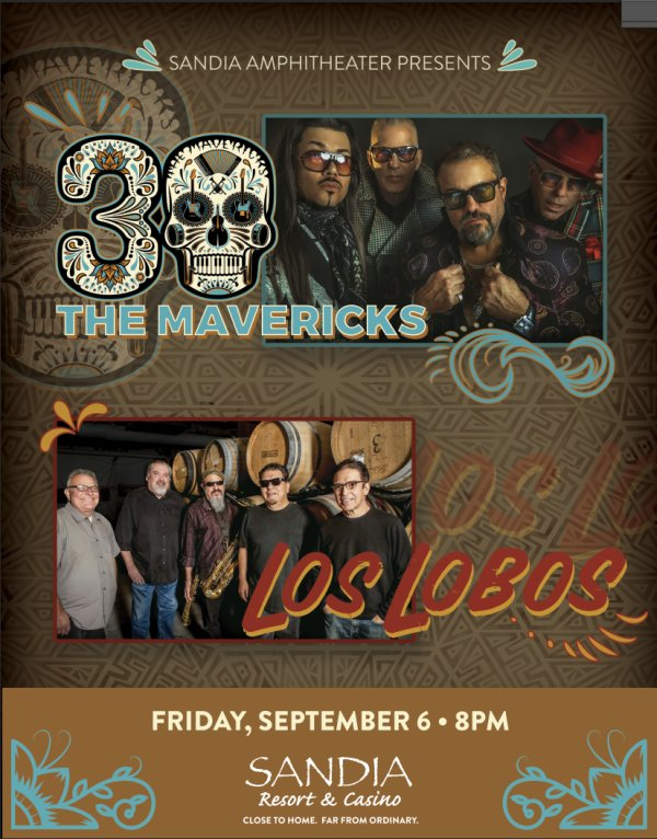 None - Win The Mavericks & Los Lobos Tickets