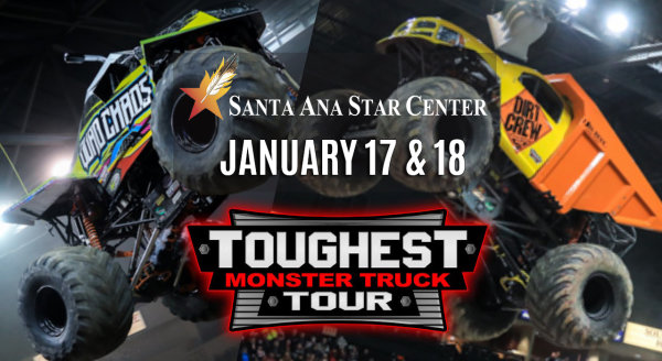 None - Win Toughest Monster Truck Tour Tickets