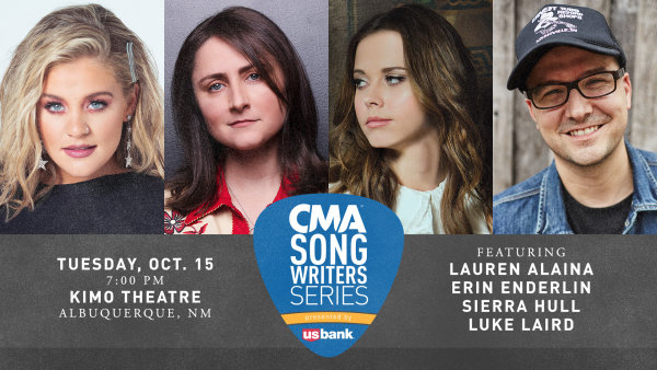 None - Win Tickets To The CMA Song Writers Series