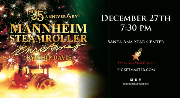 None - Win Mannheim Steamroller Christmas Tickets