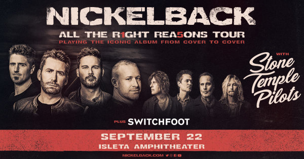 None - Win Nickelback Tickets