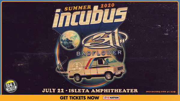 image for Win Incubus With special guest 311 & Badflower Tickets