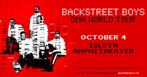 image for Win Backstreet Boys Tickets