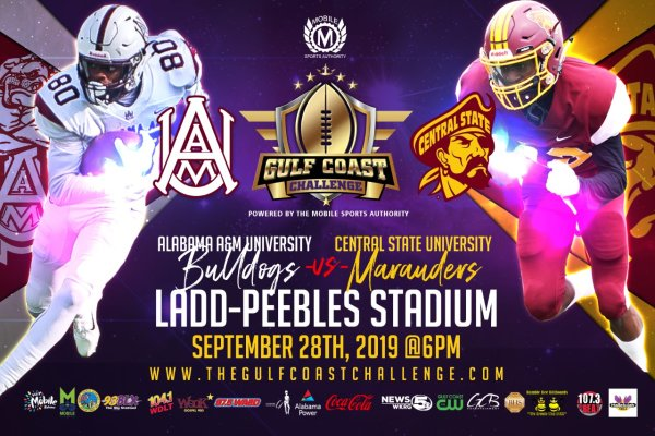 None - Register to Win A Pair of Tickets To This Years Gulf Coast Challenge Alabama A&M University v. Central State University