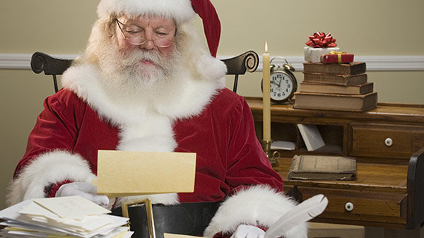 None - Write Your Letter To Santa!