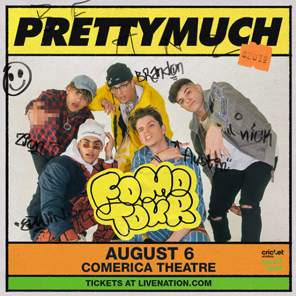 None - Win Tickets To See PRETTYMUCH!