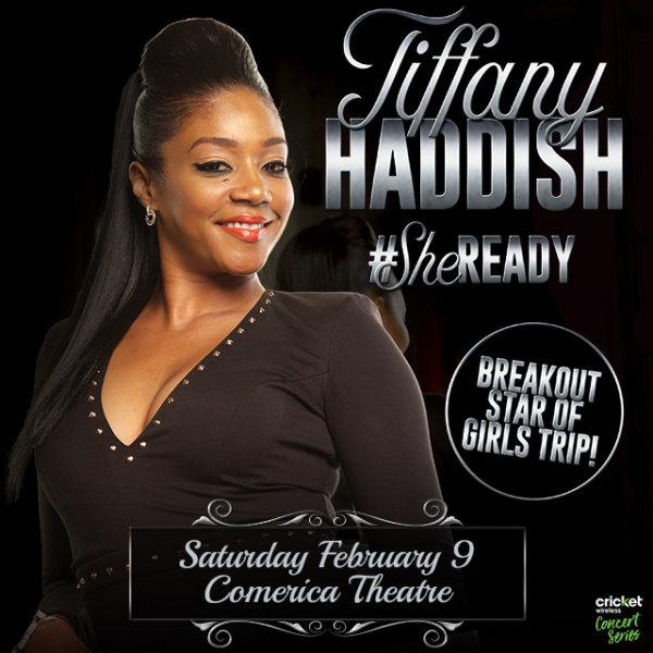 None - Win Tickets To See Tiffany Haddish!