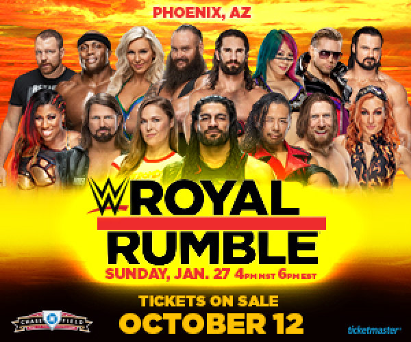 None - Win Tickets To WWE Royal Rumble!