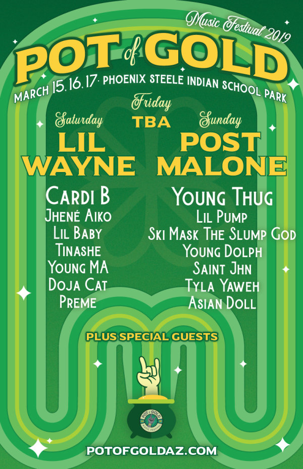 None - Win Weekend Passes To Pot Of Gold Music Festival!