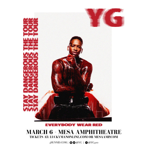 None - Win Tickets To See YG!