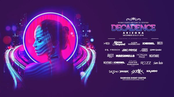 None - Win Tickets To Decadence!