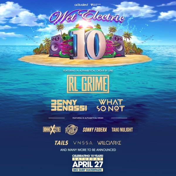 None - Win Tickets To Wet Electric!