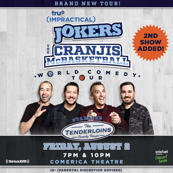 None - Win Tickets To See Impractical Jokers Starring The Tenderloins!