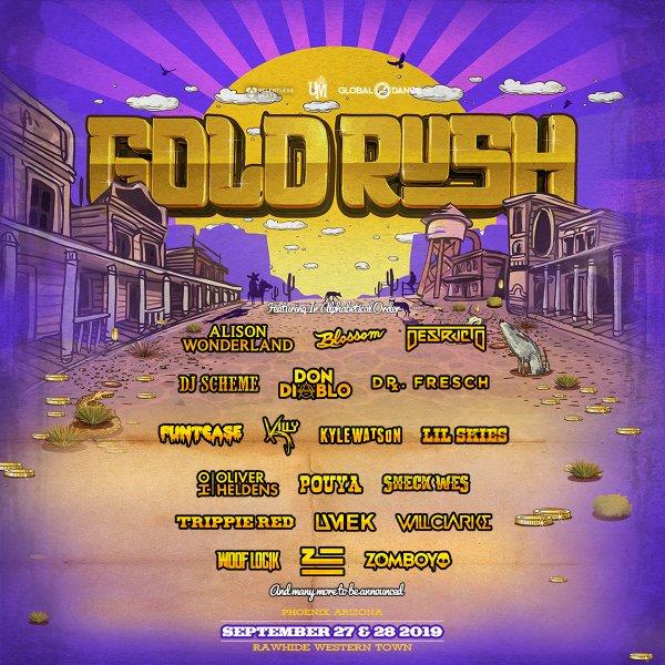 None - Win Tickets To Goldrush Music Festival!