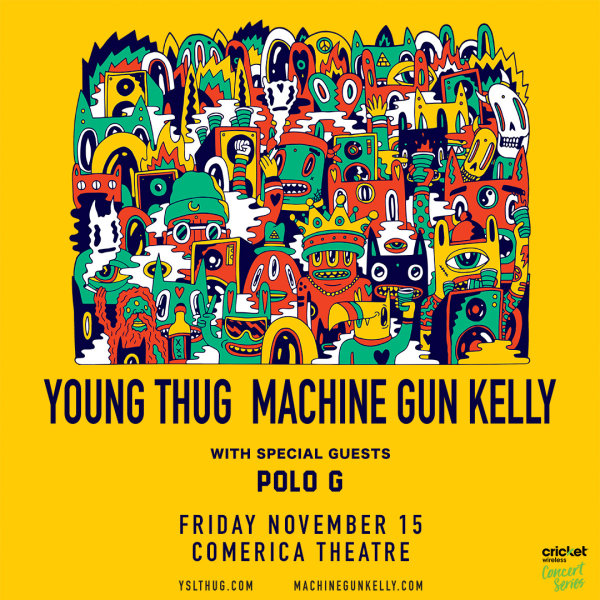 None - Win Tickets To See Young Thug & Machine Gun Kelly!