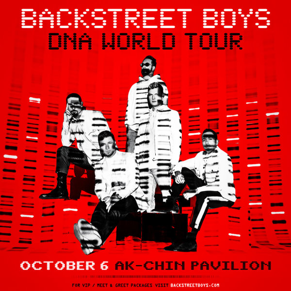 image for Win Tickets To See Backstreet Boys!