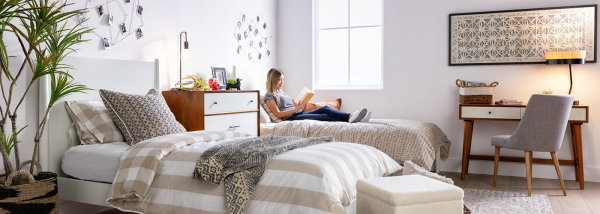 image for Upgrade Your Dorm Room Thanks To Living Spaces!