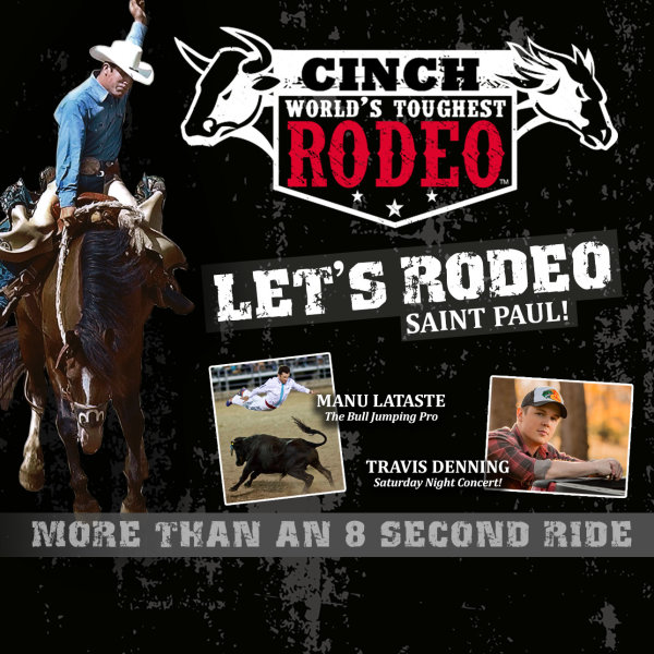 None -  Win a family 4 pack of suite tickets to Cinch World's Toughest Rodeo!