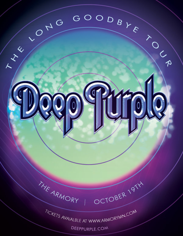 None - Win a pair of tickets to Deep Purple!