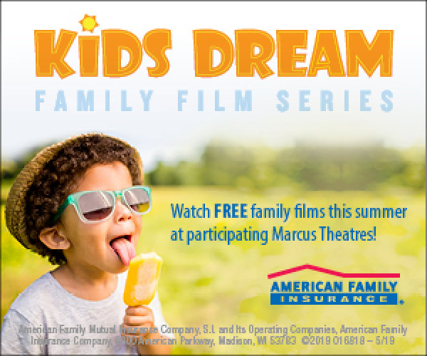 None - Win a family pack of Kids Dream Summer Film Series tickets!