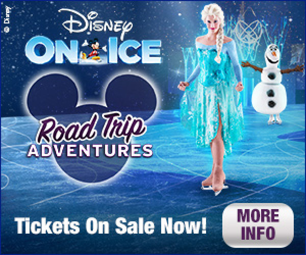None - Enter to win a family four pack of tickets to Disney on Ice 'Road Trip Adventures'!