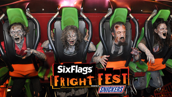 None - Fright Fest at Six Flags Magic Mountain!