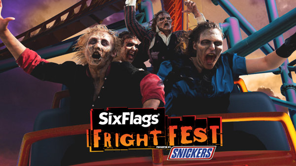 None - Fright Fest at Six Flags Discovery Kingdom!
