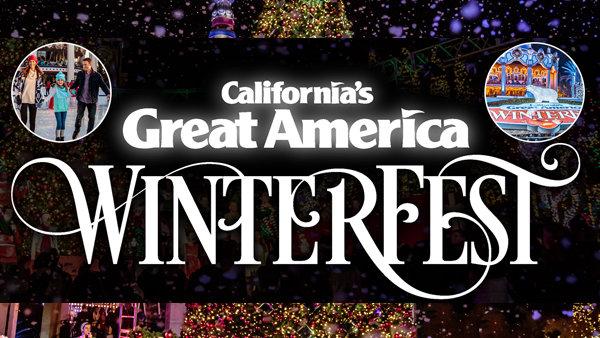 None - California's Great America Winterfest!