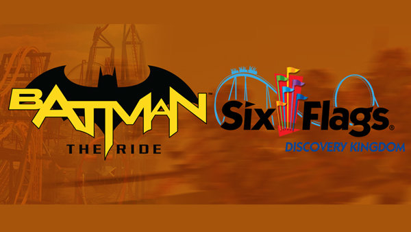 None - Six Flags Discovery Kingdom: Batman The Ride!