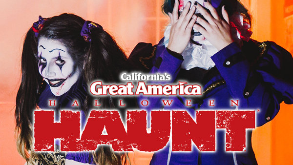 None - Halloween Haunt At California's Great America!