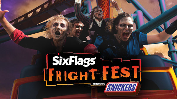 None - Six Flags Discovery Kingdom: Fright Fest!