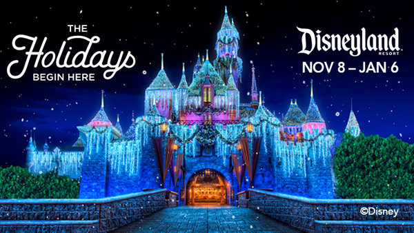 None - The Holidays At The Disneyland Resort!