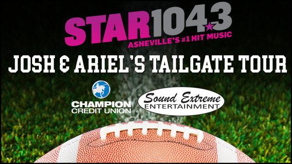 None - Josh & Ariel's Star 104.3 Tailgate Tour