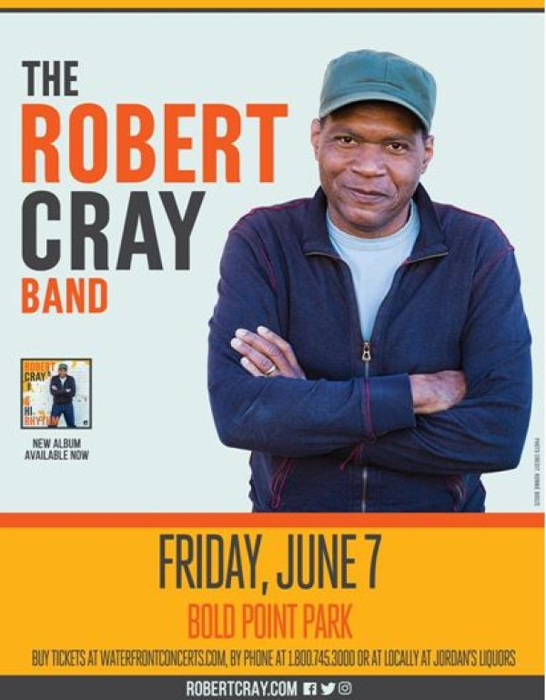 None - Robert Cray at Bold Point Park