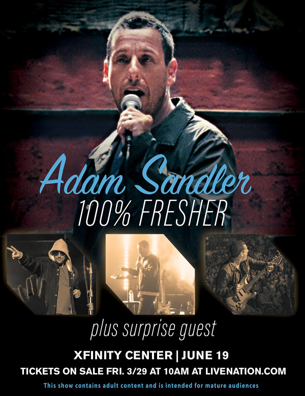 None - Adam Sandler at Xfinity Center