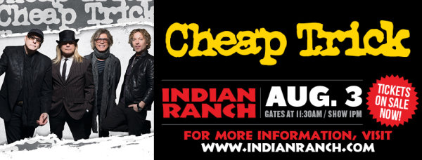 None - Cheap Trick at Indian Ranch