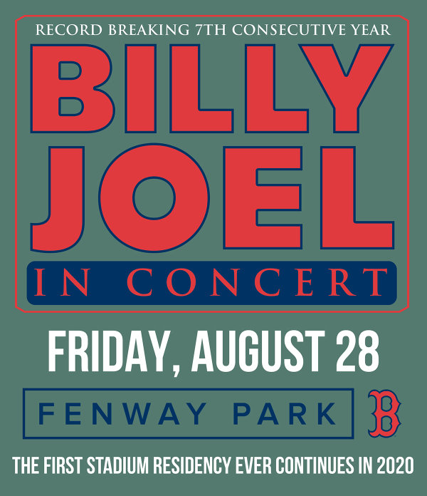 None - Billy Joel at Fenway Park!